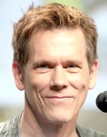 Kevin Bacon's Passing Out Blankets At The SLC Rescue Mission