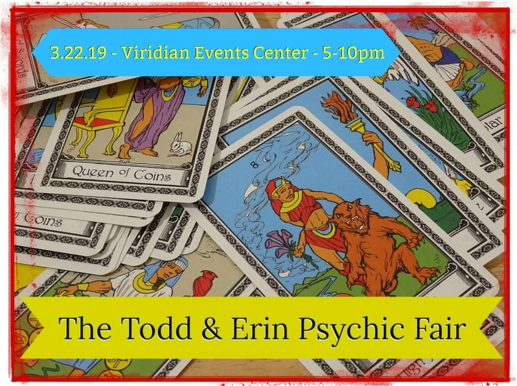 Tell A Friend - Win Tickets To The 4th Annual Todd & Erin Psychic