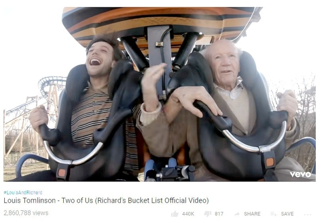 One Direction's Louis Tomlinson & The Most Beautiful Bucket List Ever